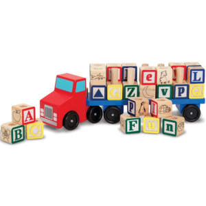 Alphabet Blocks Truck