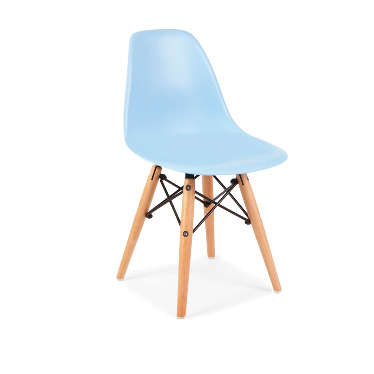 Replica eames eiffel kids chair clever little monkey for Eames fake chair