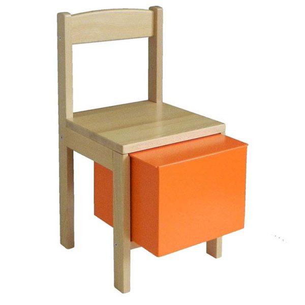 Baff Drumming Chair - Orange