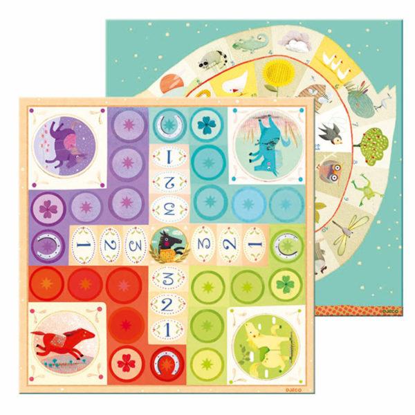 CLASSIC-GAMES LUDO & CO JUNIOR