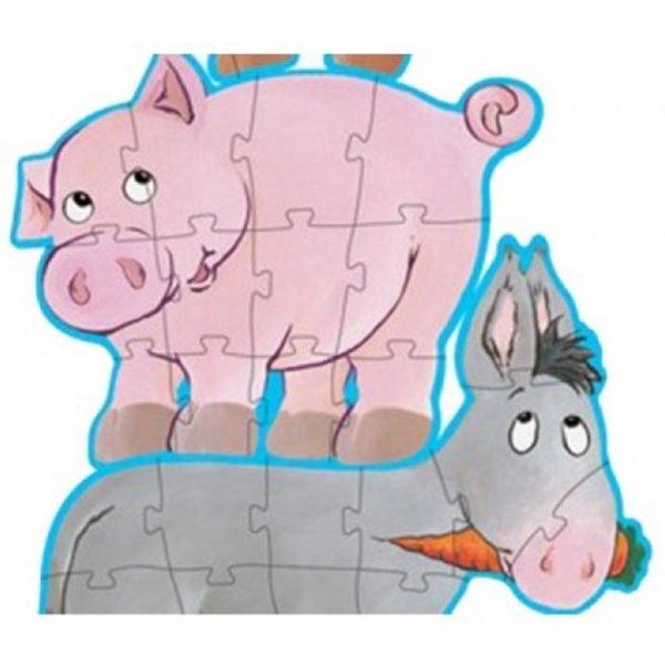 Daisy & Friends Progressive Puzzle