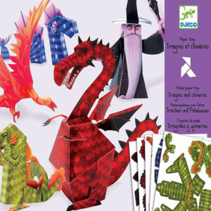 Dragons-And-Chimeras-Paper-Toys-Djeco