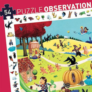 Fairy-Tales-Observation-Puzzle-54-pcs-Djeco