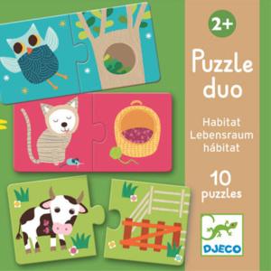 Habitat-Duo-Puzzle-Djeco