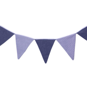 Lucky Luke Blue Bunting by Bunni