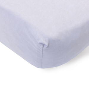 Bunni Light Grey Cot Fitted Sheet
