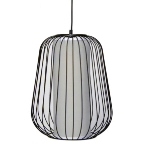 Fundi Konka Hanging Light - Black