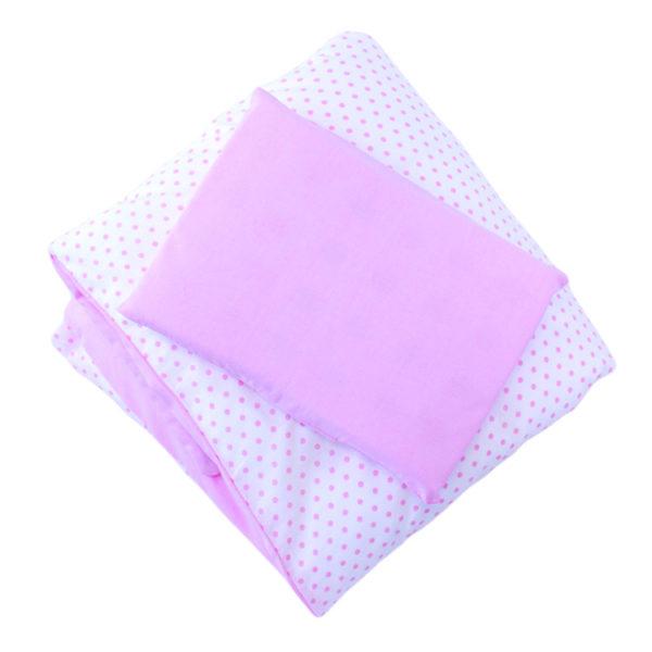 Pink Dot Duvet Cover