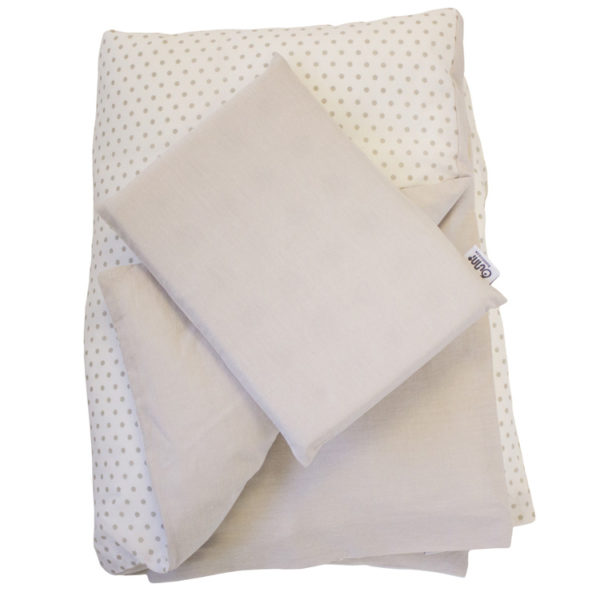 Stone Dot Duvet Cover