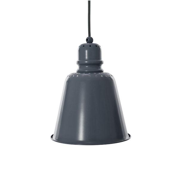 Sebra Metal Pendant Lamp - Dark Grey