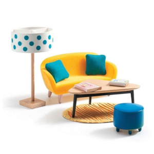 Colour House Orange Living Room
