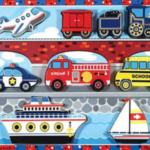 Vehicles-Chunky-Puzzle-9-Pieces-by-Melissa-Doug
