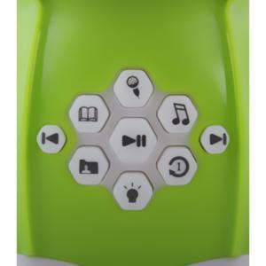 Alilo Buddy Bunny Green Buttons