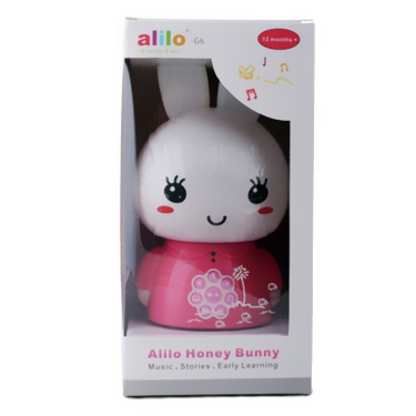 Alilo Honey Bunny Pink Packaged