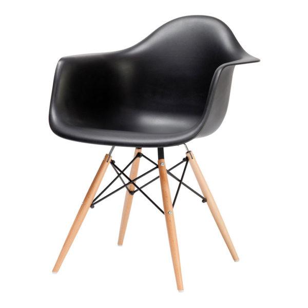 Replica Eames Eiffel Bucket Chair - Black