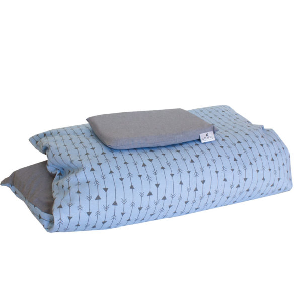 Blue Arrows Duvet Cover