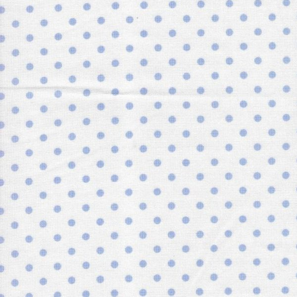 Blue Dot Fabric