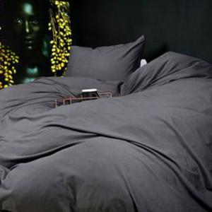 Charcoal Duvet T-shirt Bedding