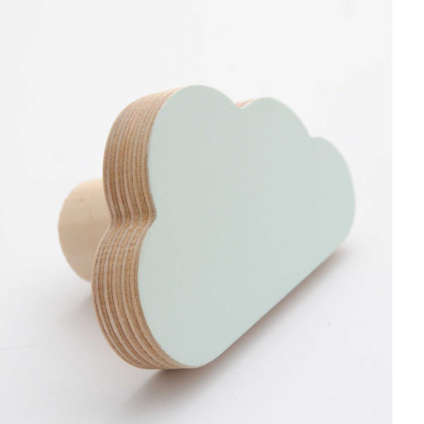Simply Child Wall Hook - Cloud - Mint