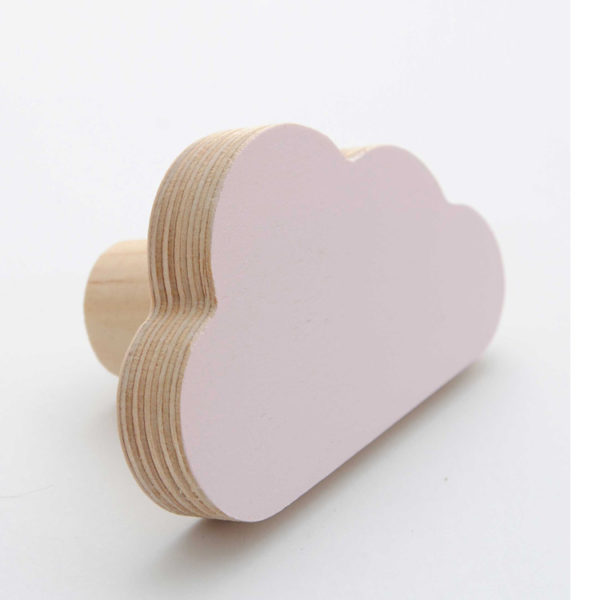 Simply Child Wall Hook - Cloud - Pink