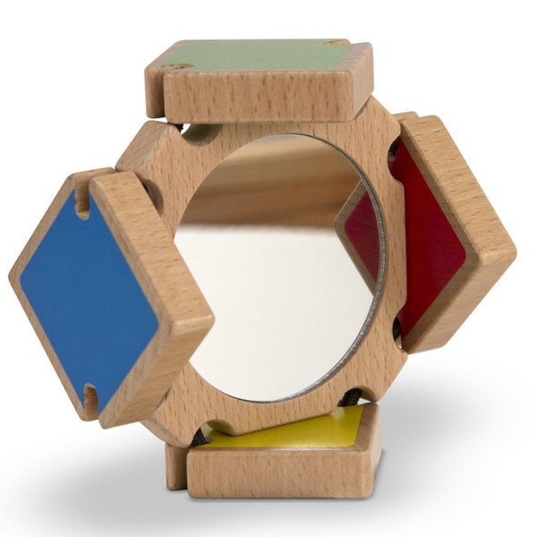 Colour Flap Mirror Toy