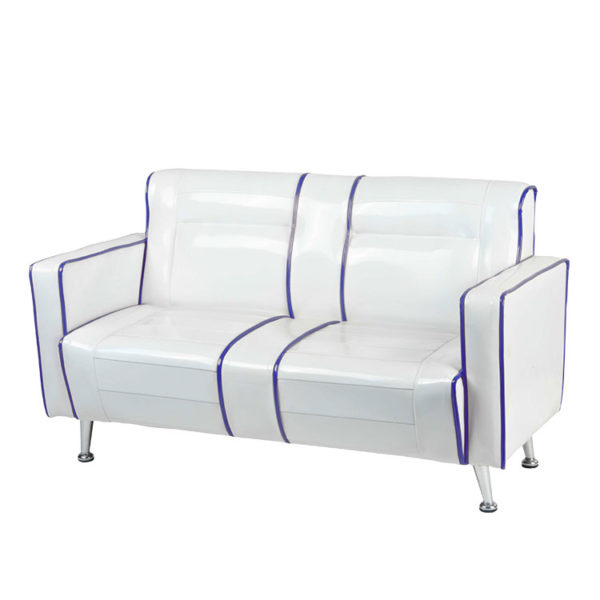 White Kids Retro Couch