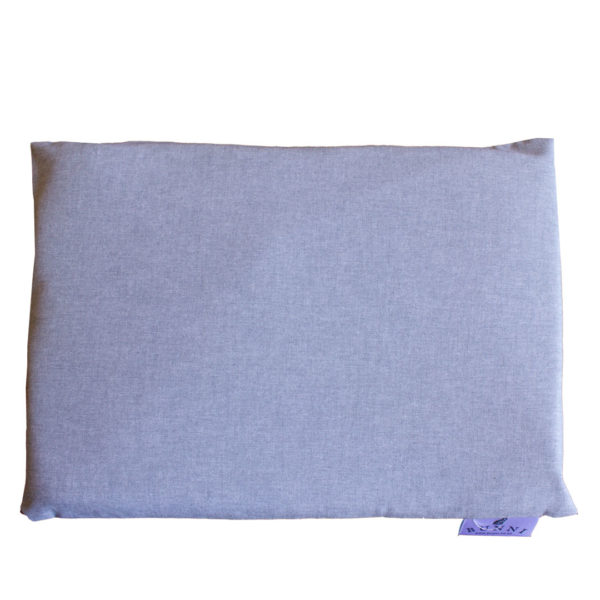 Dark Grey Baby Pillowcase