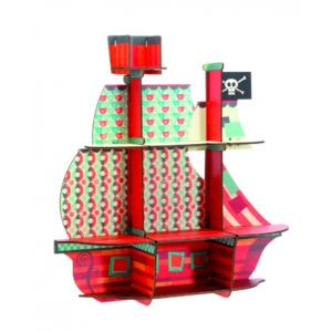 Djeco Pirates Treasure Ship Shelf