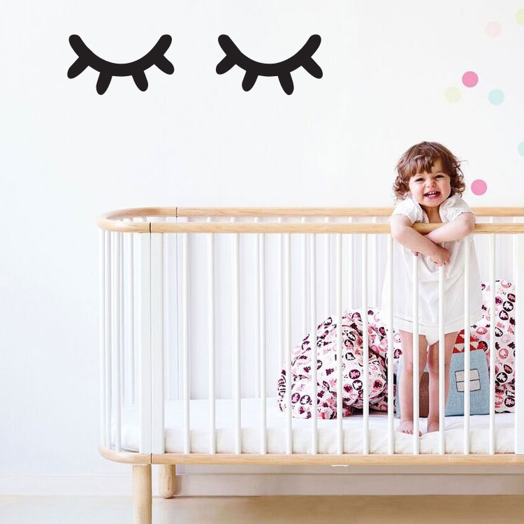 Eyes Wall Decals By Bunni Various Colours Clever Little Monkey