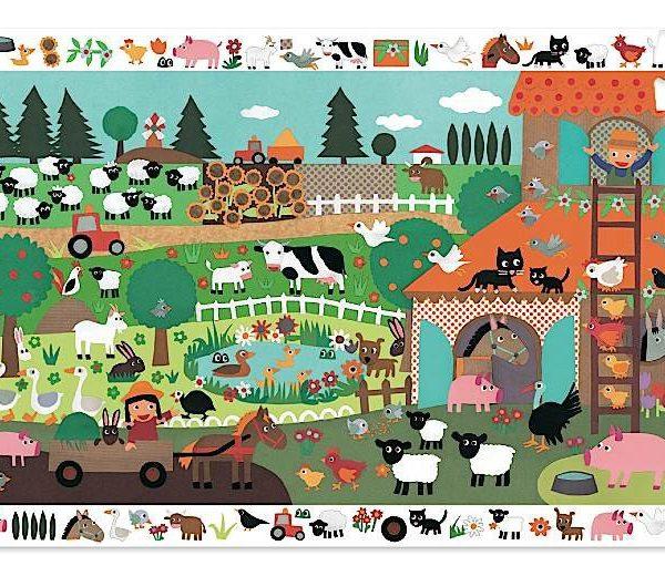 Farm observation puzzle