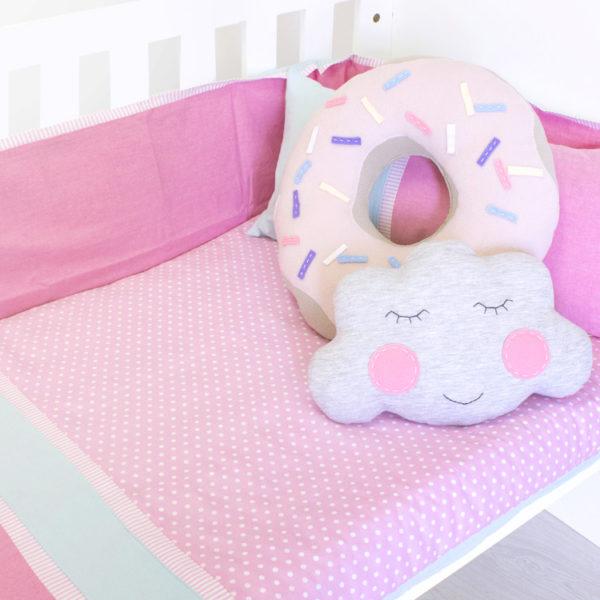 Foxy Pink Cot Set