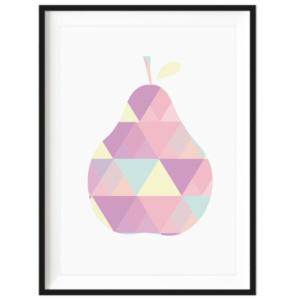 Art Print - Geo Pear