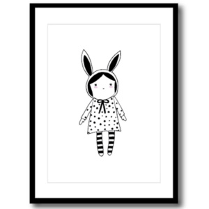 Art Print - Bunny Girl