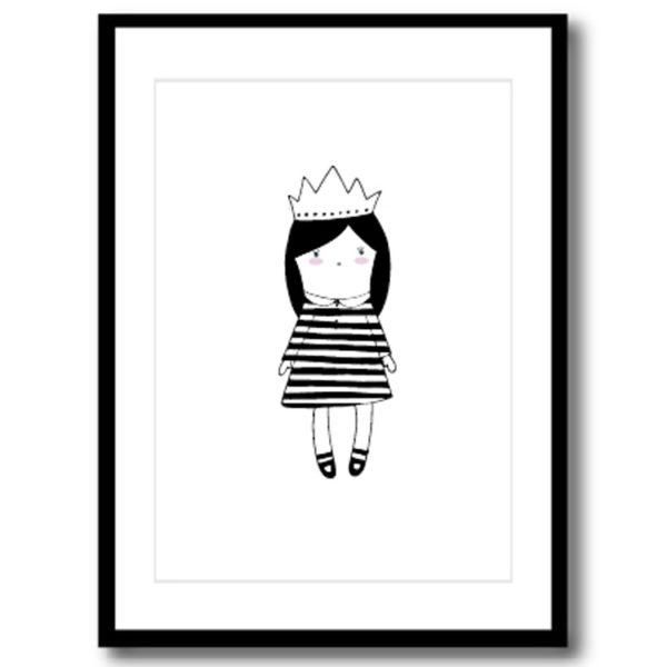 Art Print - Crown Girl