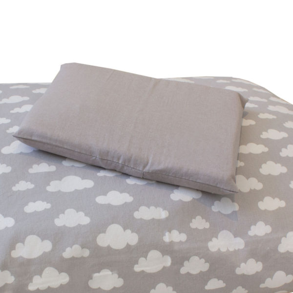 Grey Clouds Duvet Set