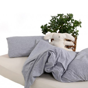 Grey Cot Duvet T-shirt Bedding