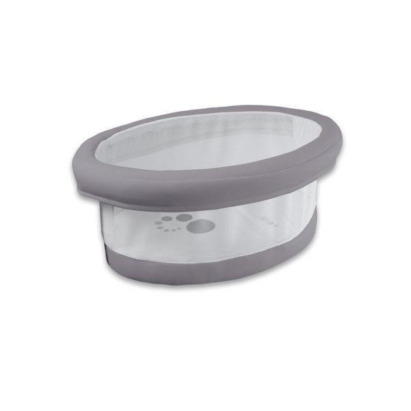 Smart Fresh Grey Bassinet