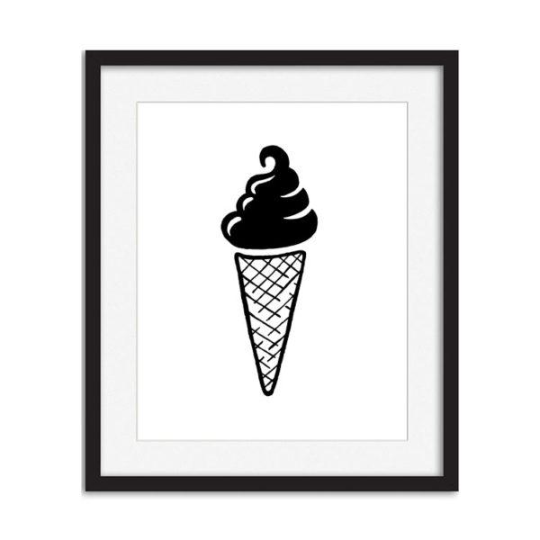 Art Print - Ice Cream