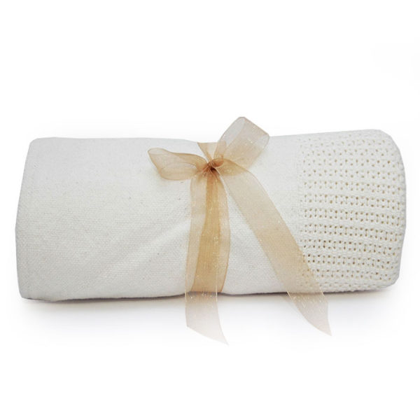 Cellular Baby Blanket
