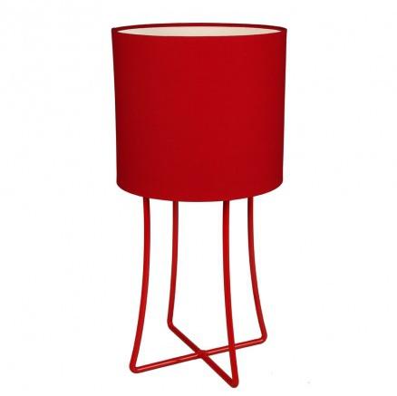 Jasper Lamp - Red