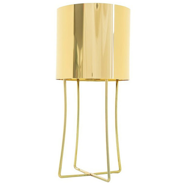 Jasper Metallic Table Lamp - Brass