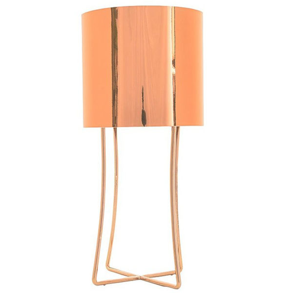 Jasper Metallic Table Lamp - Copper