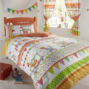 Circus Parade Duvet Cover Set