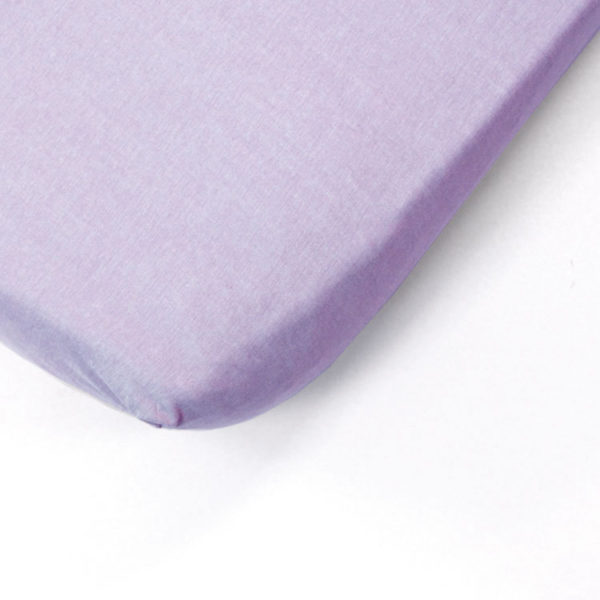 Lilac Cot Fitted Sheet