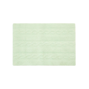 Lorena Canals Braided Rug - Soft Mint 80x120