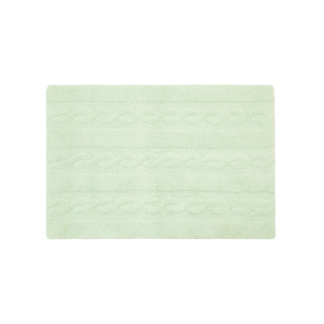 Lorena Canals Braided Rug - Soft Mint - Small