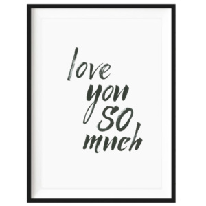 Art Print - Love You So Much