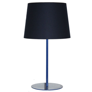 Metal Upright Lamp - Dark Blue
