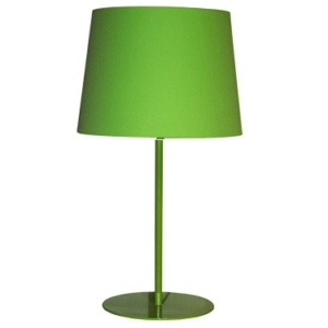 Metal Upright Lamp Lime Green