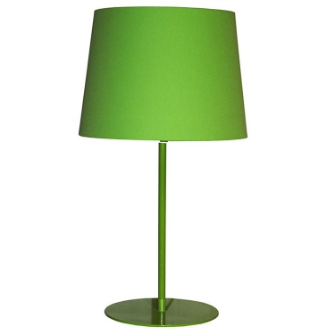 Metal Upright Lamp - Lime Green